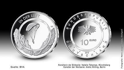 """10€-Sondermünze """"In der Luft"""" 2019"""