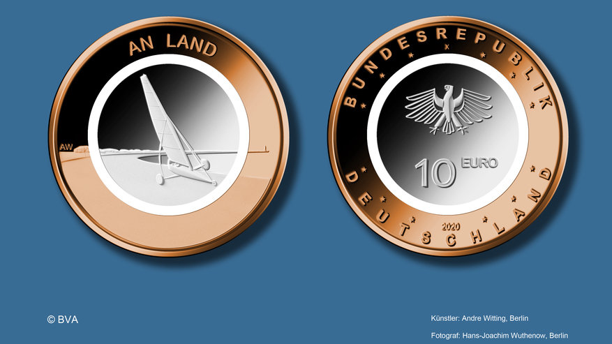 "10€-Sondermünze ""An Land"" 2020"