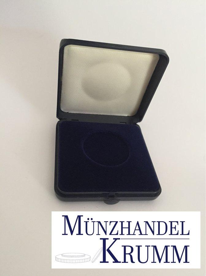Münzetui (blau) für Münzen bis 29 mm  Ø