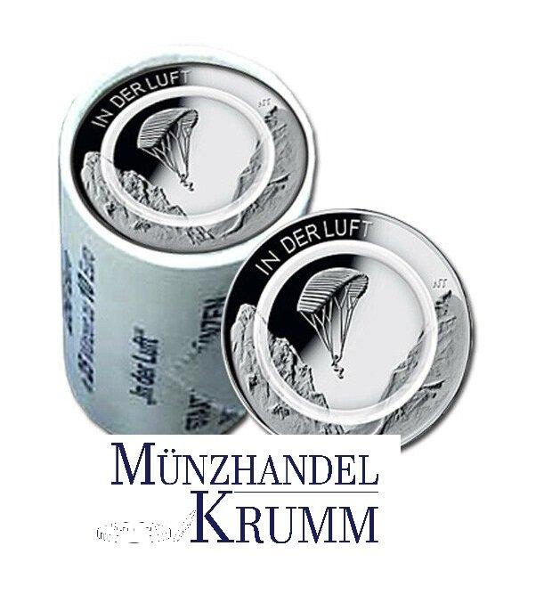 """Rolle 10€-Sondermünze """"In der Luft"""" 2019"""